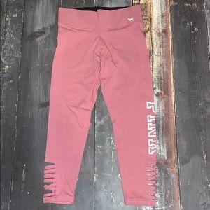 Pink Victoria's Secret legging small